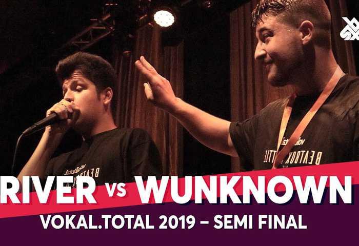 RIVER vs WUNKNOWN Vokal Total Beatbox Battle 2019 Semi 决赛