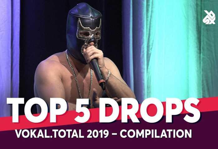 TOP 5 DROPS Vokal Total Beatbox Battle 2019