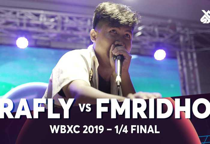 RAFLY vs FMRIDHO Beatbox 冠军 2019 1/4 决赛