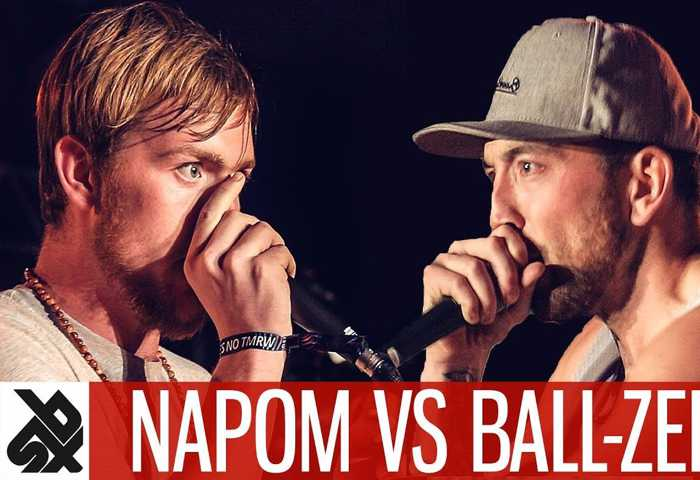 NAPOM vs Ball-Zee Fantasy Battle Beatbox
