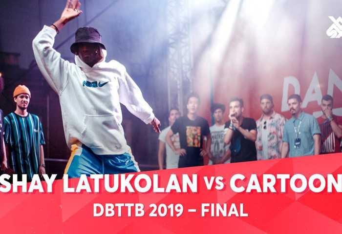 SHAY LATUKOLAN vs CARTOON UNITEAM Dance Beatbox 2019 决赛