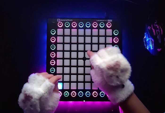 【launchpad】按键很简单 节奏很强烈!
