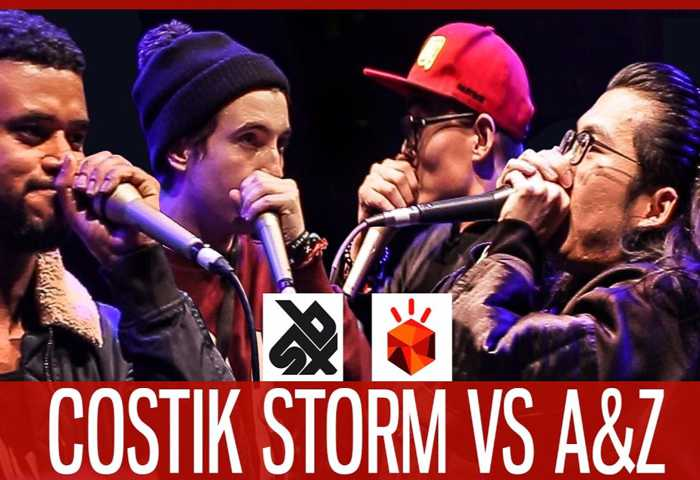 COSTIK STORM vs A&Z (张泽、啊鑫) Beatbox TAG TEAM Battle 2017 半决赛
