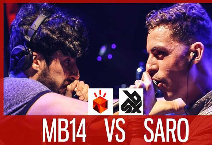 MB14 vs SARO Beatbox LOOPSTATION Battle 2017 SEMI 决赛