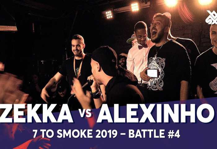 ZEKKA vs ALEXINHO Beatbox 7 TO SMOKE  2019 Battle 4