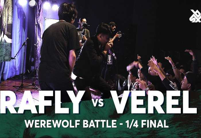 RAFLY vs VEREL Beatbox 冠军 2018 1/4 决赛