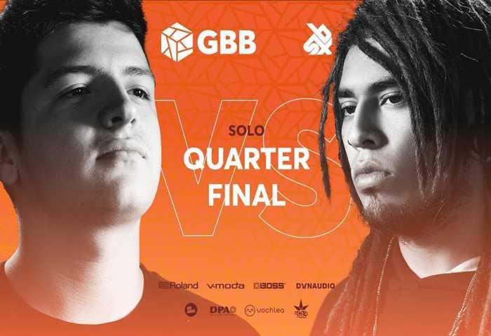 RIVER vs TOMAZACRE Beatbox Battle 2019 1/4 决赛