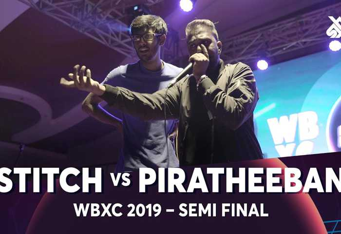 STITCH vs PIRATHEEBAN Beatbox 冠军 2019 Semi 决赛