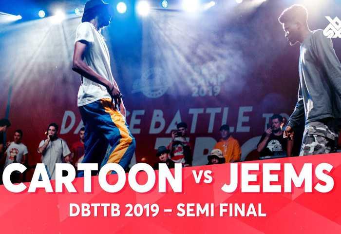 CARTOON vs JEEMS TOMAZACRE & DHARNI Dance Beatbox 2019