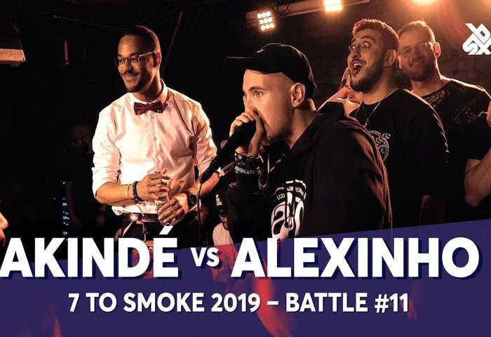 AKINDÉ vs ALEXINHO Beatbox 7 TO SMOKE  2019 Battle 11