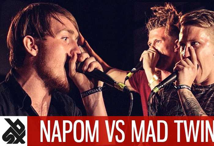 NAPOM vs MAD TWINZ Fantasy Battle OVERTIME Beatbox