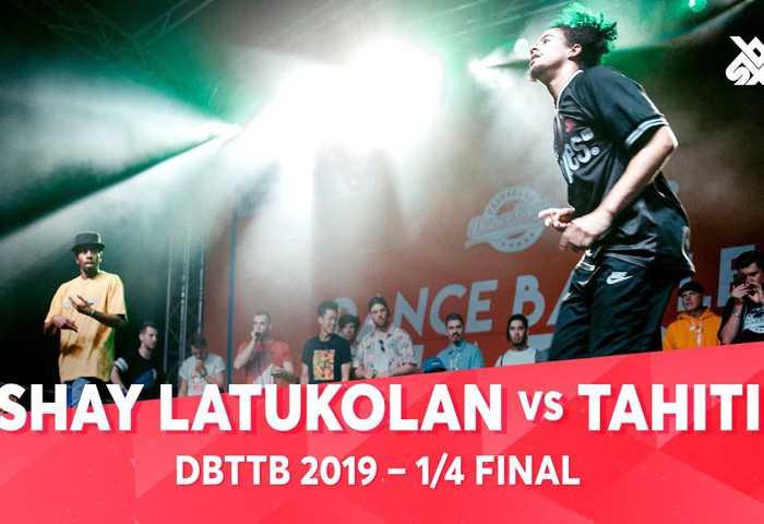 SHAY LATUKOLAN vs TAHITI ALEM & ZEKKA Dance Beatbox 2019
