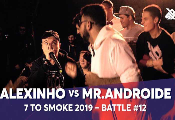 ALEXINHO vs MR.ANDROIDE Beatbox 7 TO SMOKE  2019 Battle 12