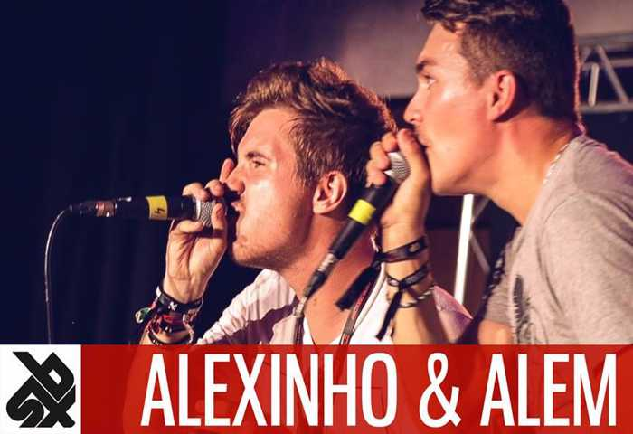 ALEXINHO & ALEM Fantasy Battle Beatbox