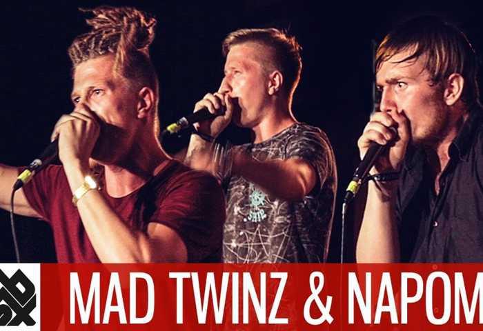NAPOM & MAD TWINZ Fantasy Battle Jam Beatbox