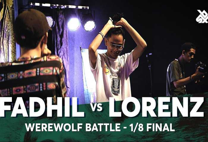 FADHIL vs LORENZ Beatbox 冠军 2018 1/8 决赛