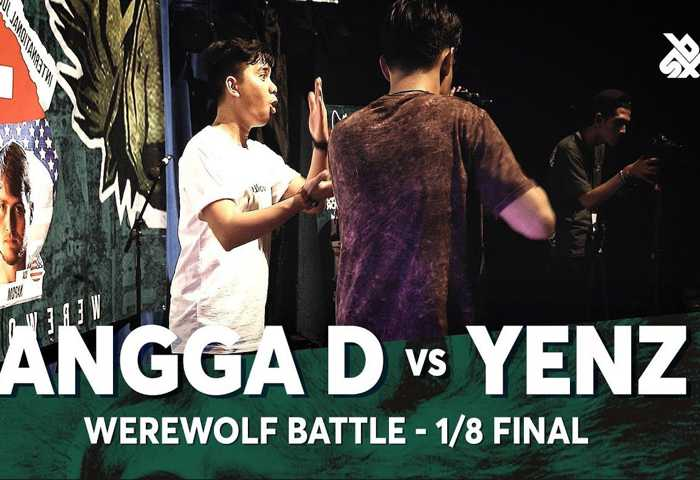 ANGGA D vs YENZ Beatbox 冠军 2018 1/8 决赛