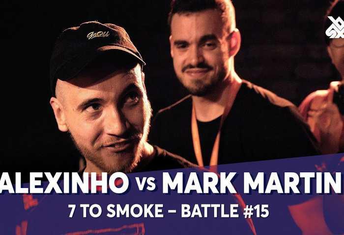 ALEXINHO vs MARK MARTIN Beatbox 7 TO SMOKE  2019 Battle 15