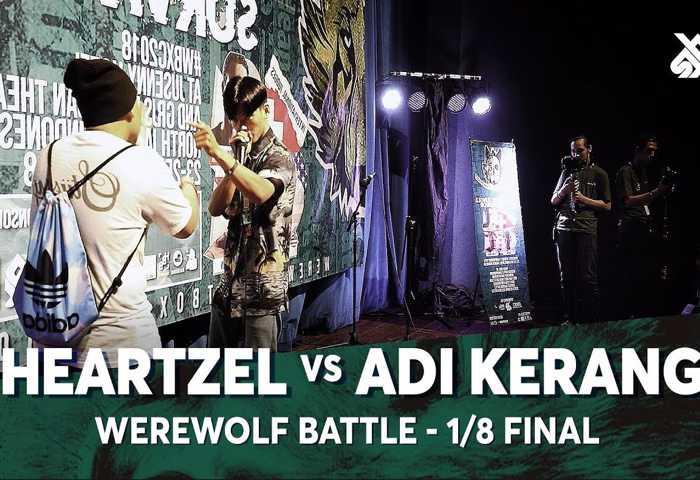 HEARTZEL vs ADI KERANG Beatbox 冠军 2018 . 1/8 决赛