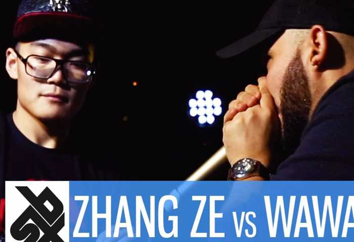 张泽 vs WAWAD Beatbox 7 TO SMOKE  2017 Battle 1
