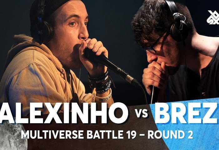 ALEXINHO vs BREZ Multiverse Beatbox Battle 2019 2nd Round