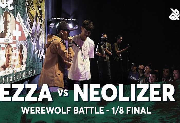 EZZA vs NEOLIZER Beatbox 冠军 2018 1/8 决赛