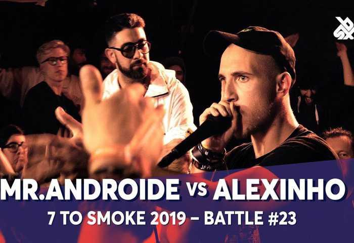 MR.ANDROIDE vs ALEXINHO Beatbox 7 TO SMOKE  2019 Battle 23