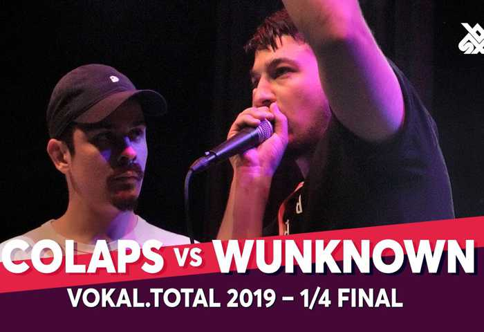 COLAPS vs WUNKNOWN Vokal Total Beatbox Battle 2019