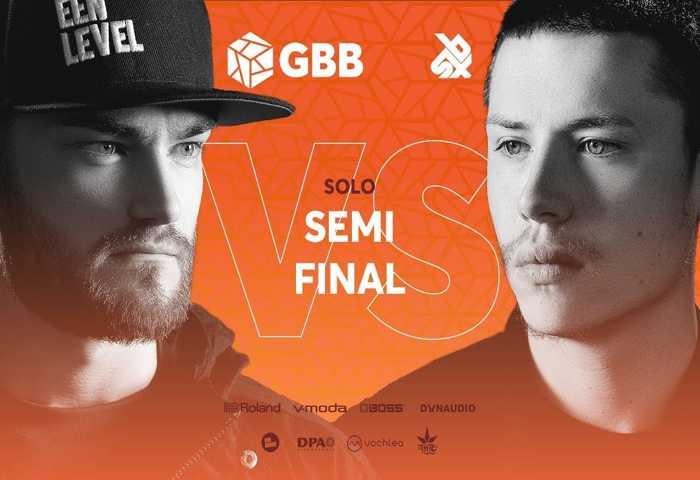 B-ART vs D-LOW Beatbox Battle 2019 SEMI 决赛