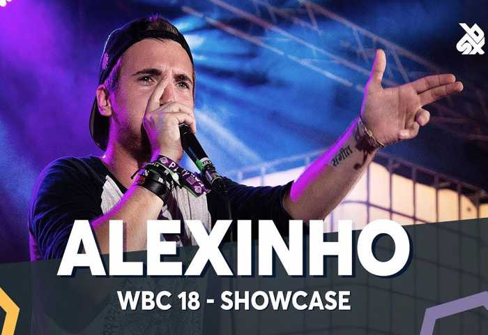 ALEXINHO 表演 2018 Beatbox Battle 冠军
