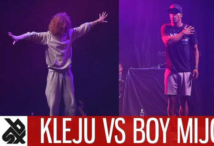 KLEJU & ALEXINHO vs BOY MIJO & DHARNI Dance To Beatbox Battle 2017
