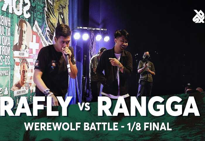 RAFLY vs RANGGA Beatbox 冠军 2018 . 1/8 决赛