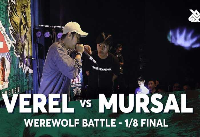 VEREL vs MURSAL Beatbox 冠军 2018 1/8 决赛