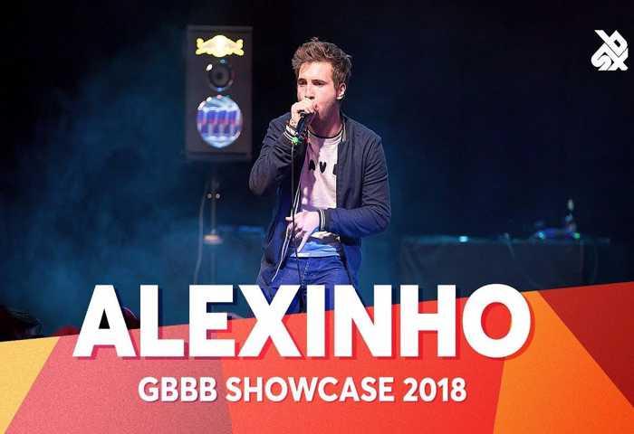 ALEXINHO 2018年世界Beatbox锦标赛男子冠军