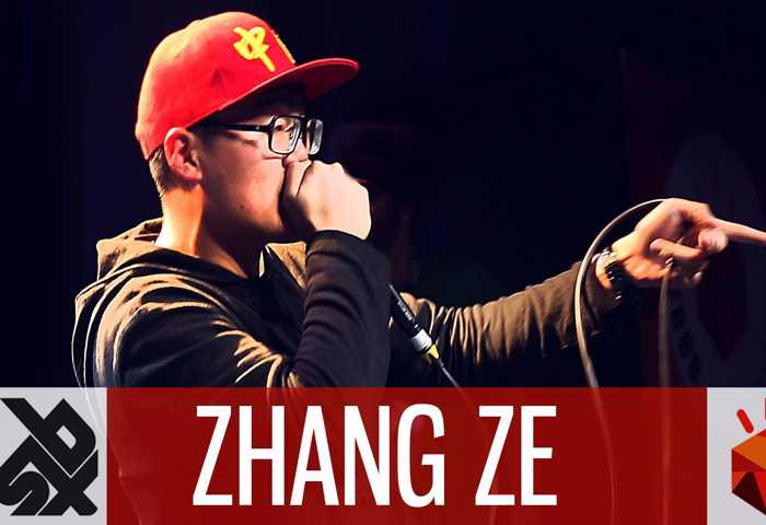 张泽 Beatbox 表演 Battle 2016 Elimination