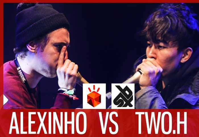 ALEXINHO vs TWO.H Beatbox 表演 Battle 2017 1/4 决赛