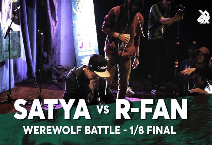 SATYA vs R-FAN Beatbox 冠军 2018 1/8 决赛