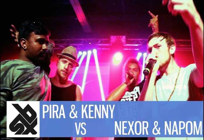 PIRATHEEBAN_KENNY vs NEXOR_NAPOM Fantasy Beatbox Battle 2017 半决赛