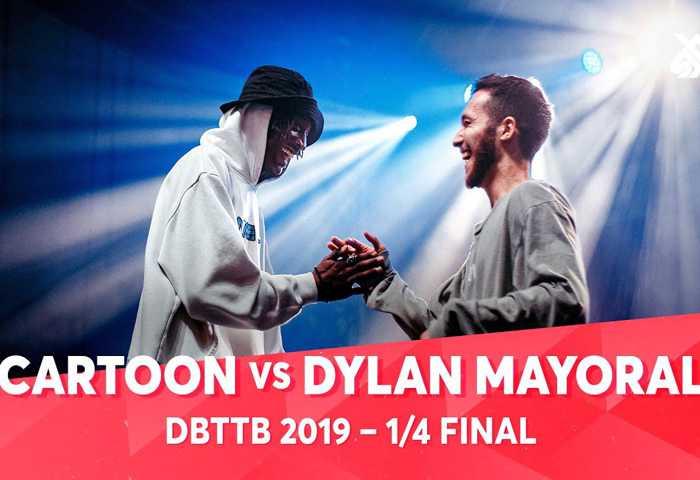 CARTOON vs DYLAN MAYORAL ALEXINHO & COLAPS Dance Beatbox 2019