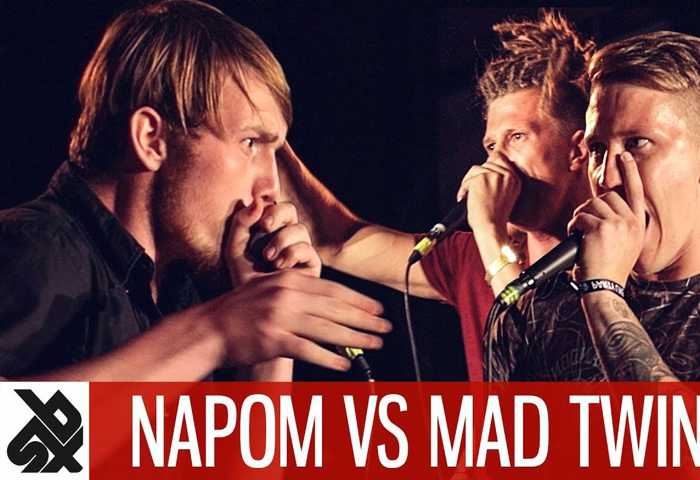NAPOM vs MAD TWINZ Fantasy Battle Beatbox