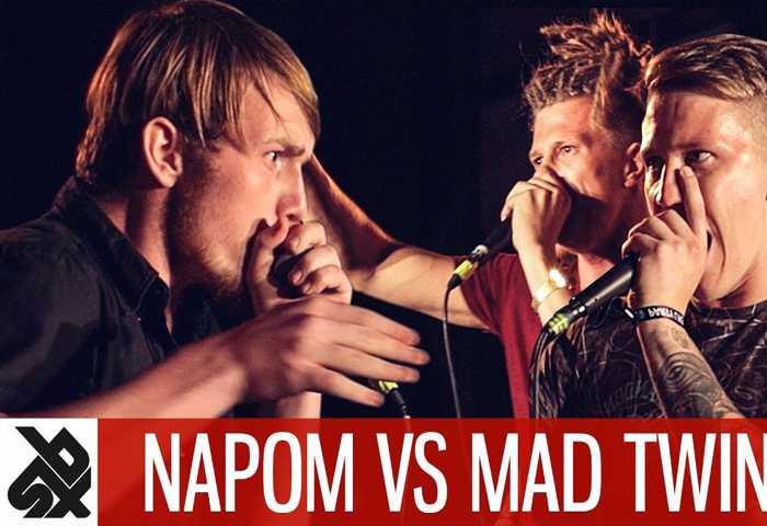 NAPOM vs MAD TWINZ Fantasy Battle Beatbox