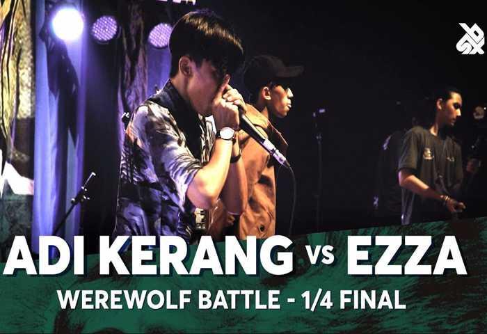 ADI KERANG vs EZZA Beatbox 冠军 2018 1/4 决赛