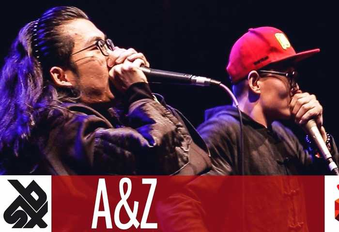 A&Z (张泽、啊鑫) Beatbox TAG TEAM Battle 2017 Elimina