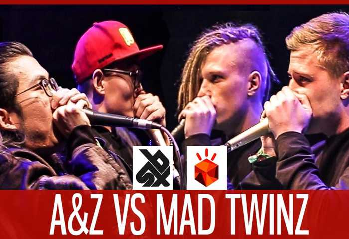 MAD TWINZ vs A&Z(张泽、啊鑫) Beatbox TAG TEAM Battle 2017 决赛