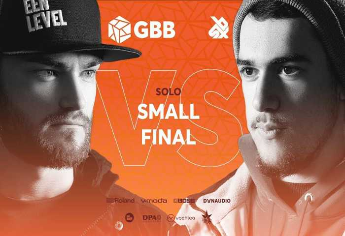 B-ART vs CODFISH Beatbox Battle 2019 SMALL 决赛