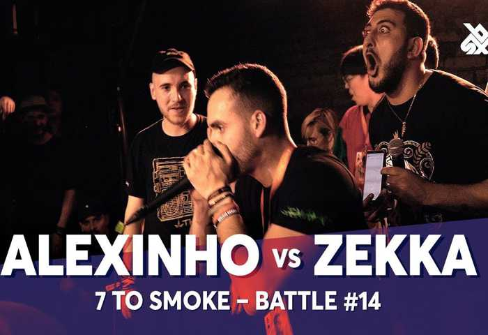 ALEXINHO vs ZEKKA Beatbox 7 TO SMOKE  2019 Battle 14