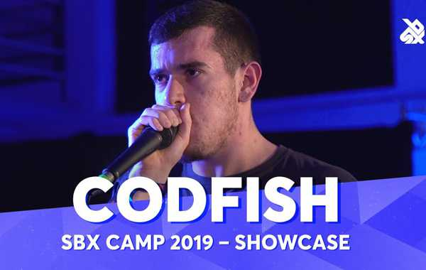 CODFISH   Going Under   SBX Camp Showcase 2019