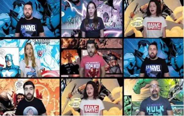 【复仇者联盟BGM阿卡贝拉版  Avengers Theme Acapella Cover 】