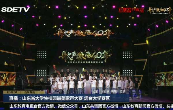 【合唱】《我爱你中国》(孙玥改编八声部阿卡贝拉合唱)鲁东大学艺术学院鲁艺合唱团