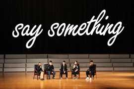 【阿卡贝拉】【翻唱】纯人声无伴奏演唱《say something》 (cover:Pentatonix)